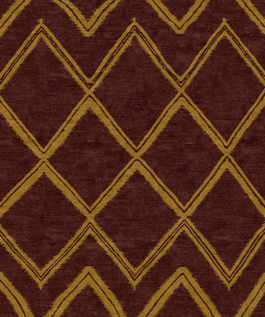 Moroccan: Weaves Plum
