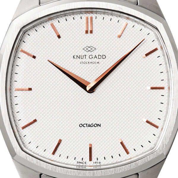 Octagon |  Steel | White Stainless steel
