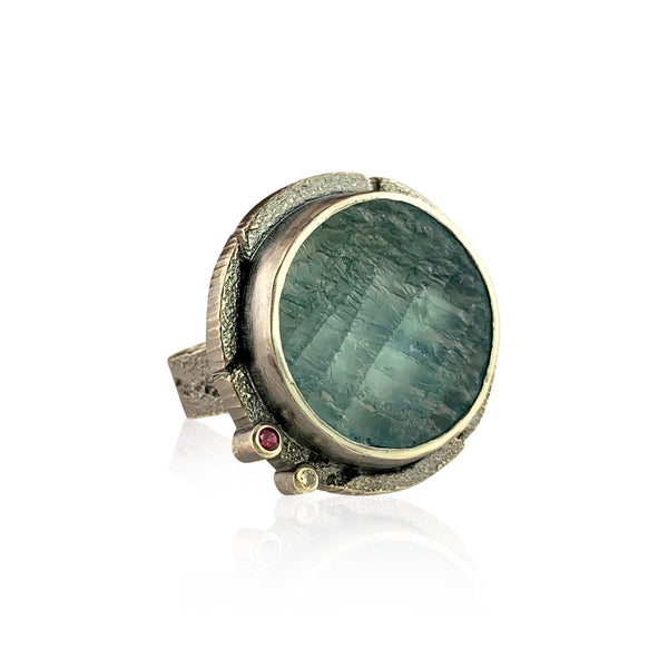 Aqua Orbit Ring