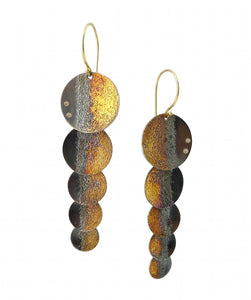 Shadow Shimmer Earrings - Gold