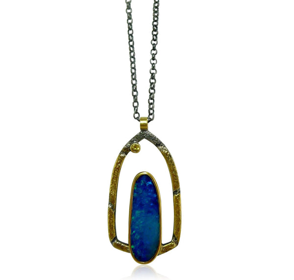 Opal Pinnacle Pendant