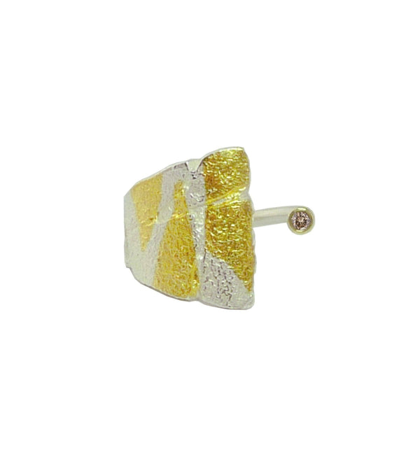 Small Bedrock Wrap Ring - Bright