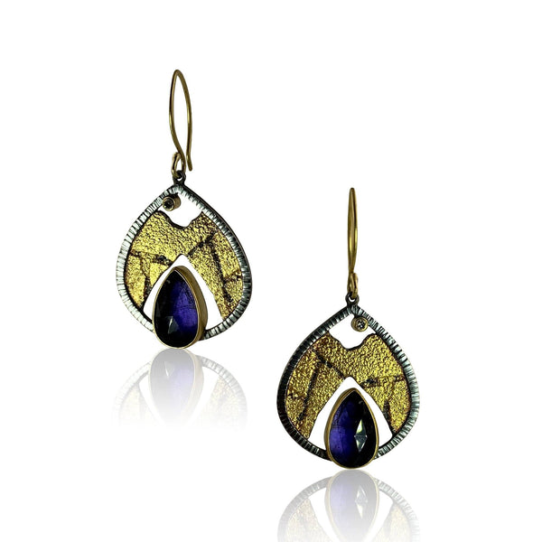 Terra Dewdrop with Iolite
