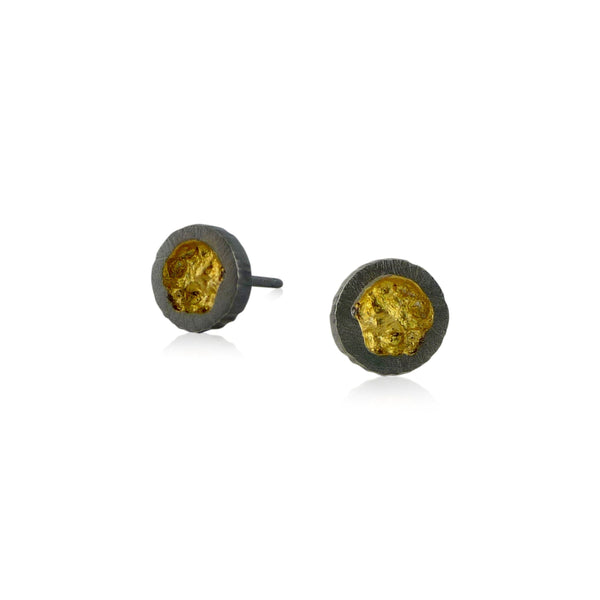 Tiny Erosion Studs - Oxidized