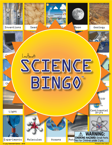 Science Bingo