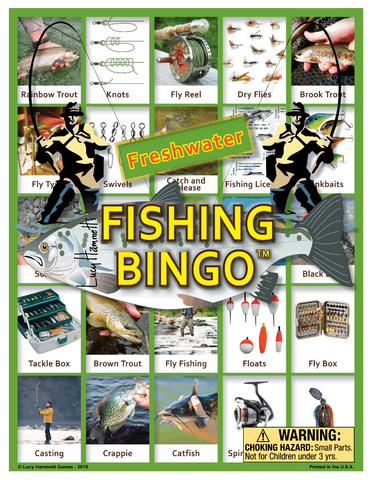 Fishing Bingo
