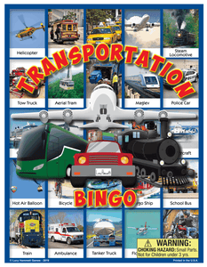 Transportation Bingo