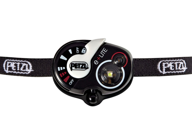 e+LITE Ultra-compact emergency headlamp. 30 lumens - Petzl - Coast Ropes and Rescue - Canada