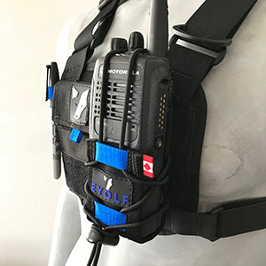 Gjallarhorn Radio Holster - Eyolf - Coast Ropes and Rescue - Canada