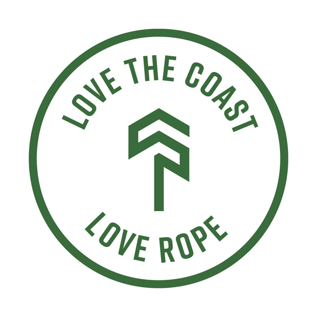 """Love your Ropes"" Rope Protector - Coast Ropes and Rescue - Coast Ropes and Rescue - Canada"