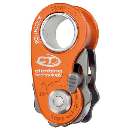 Climbing Technology Roll N Lock, Ultralight pulley/rope cam - PMI - Coast Ropes and Rescue - Canada