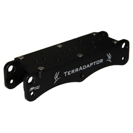 PMI - TerrAdaptor™ Standard Winch Bracket - Black - Canada  - Coast Ropes and Rescue