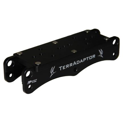 TerrAdaptor™ Standard Winch Bracket - Black - Coast Ropes and Rescue