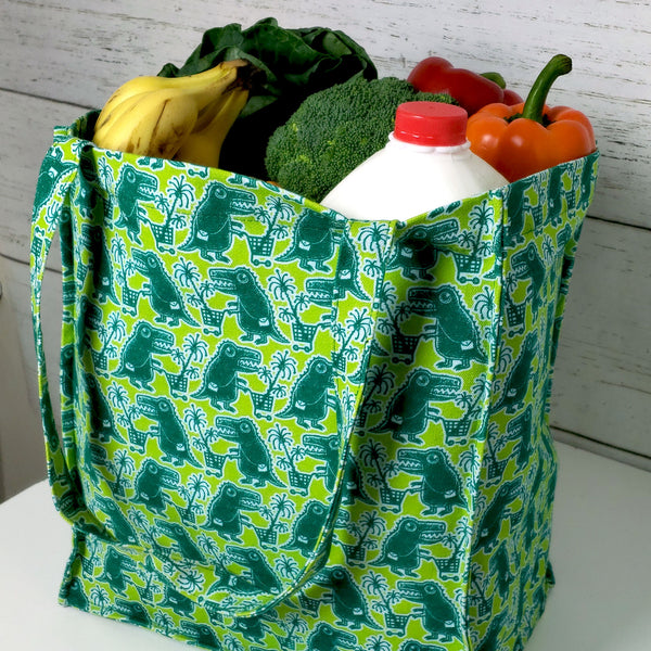 Promotional Dino-Shopper Grocery Bag