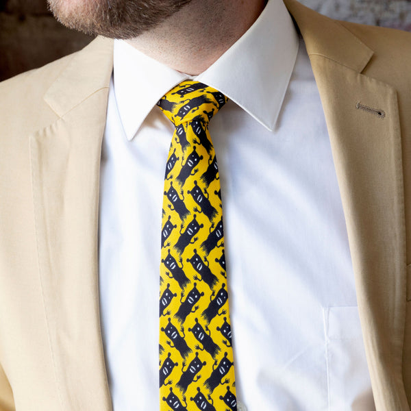Demon Bears Necktie