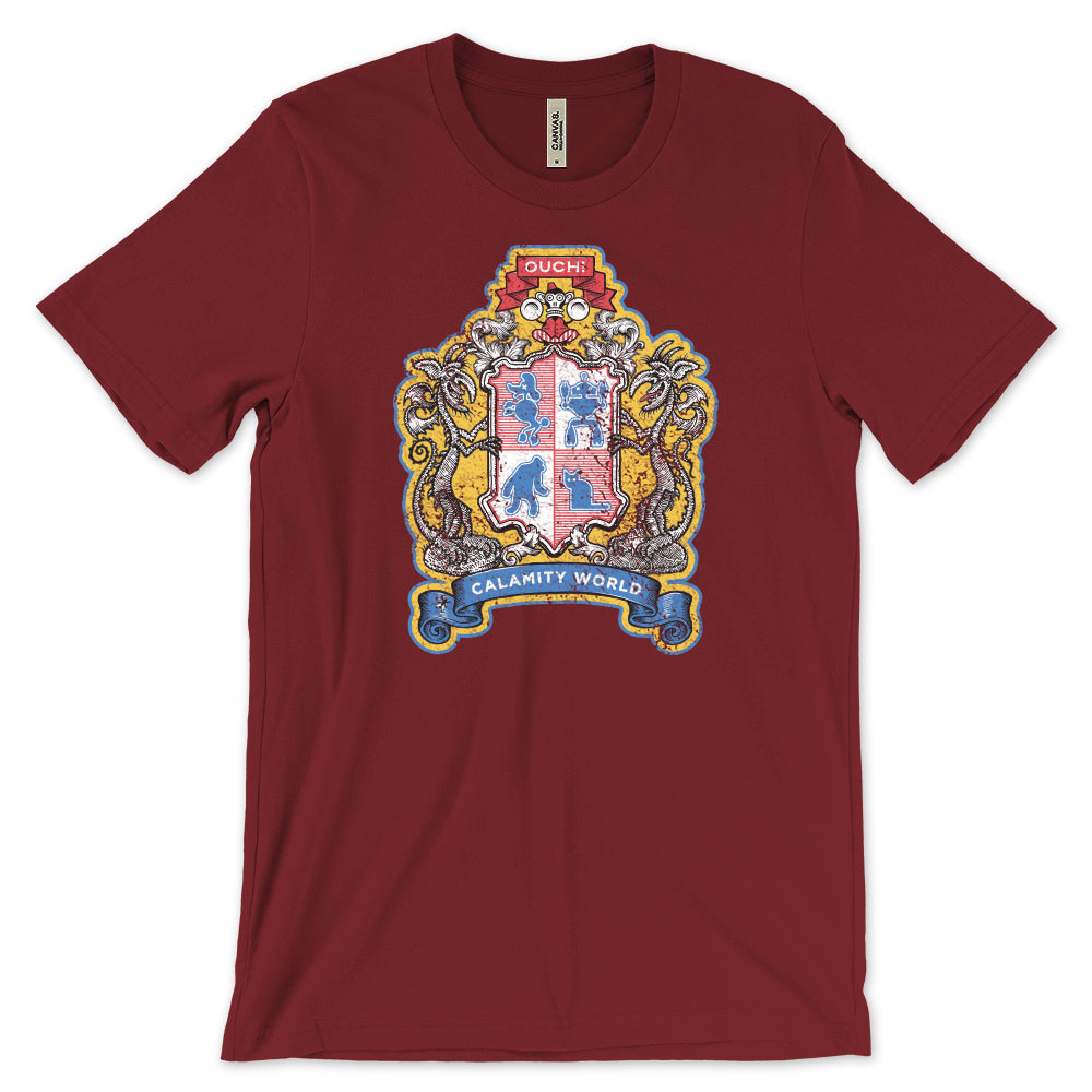 Calamityware Coat-of-Arms T-Shirt