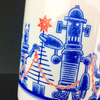 Calamityware Mugs: Robot Holiday-Party (Set of 2)