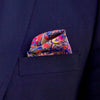 Strawberry Thieves Pocket Square