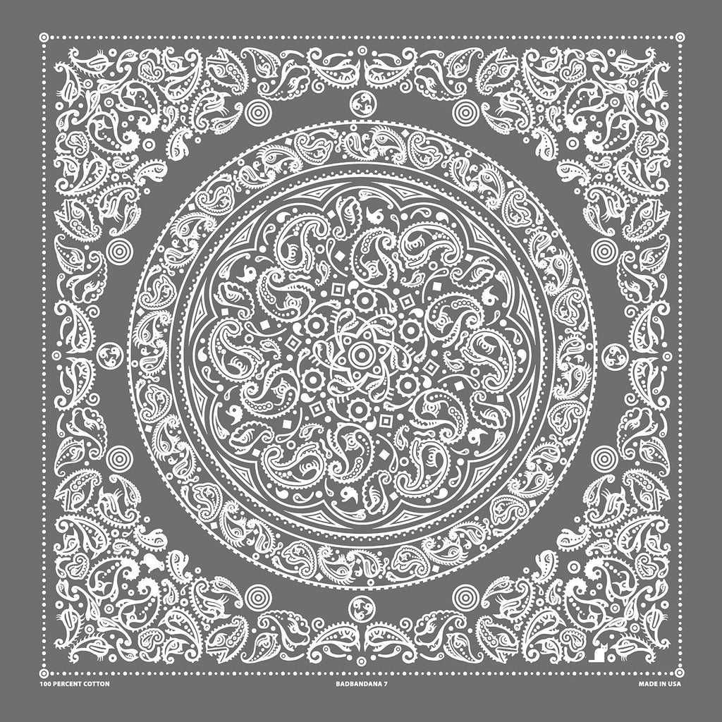 BADbandana 7: Peeved Paisleys (Pack of 3)