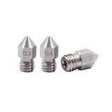 MK8 Stainless Steel Nozzle - 2 Pieces
