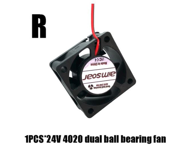 Fan 4020 24V Dual ball Bearing