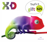 X3D Gift Card