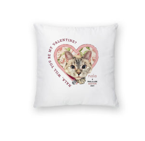 NALA PILLOW CASE LIMITED EDITION WILL YOU BE MY VALENTINE