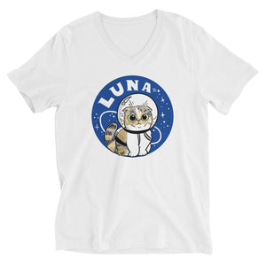AstroLuna Unisex Short Sleeve V-Neck T-Shirt