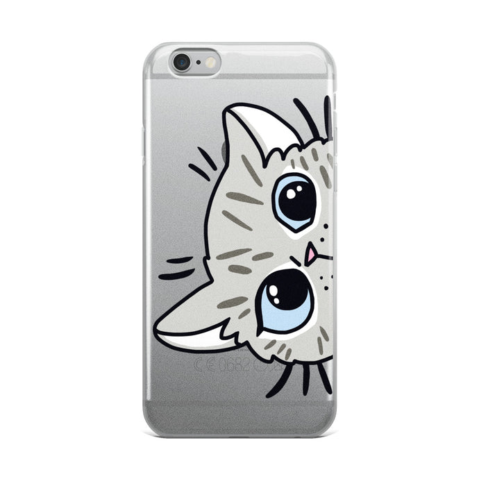 Peek a boo iPhone Case