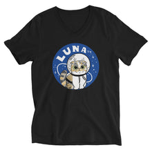 Load image into Gallery viewer, AstroLuna Unisex Short Sleeve V-Neck T-Shirt