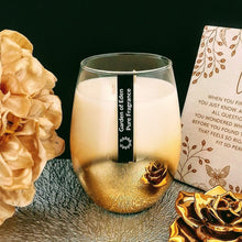 Load image into Gallery viewer, **Exclusive Product Only Found Here** - Spectacular X Large Ombre Glass Jars, Natural Soy Wax Candle - Highly Scented Fragrances  ***While Stocks Last*** - Garden of Eden Pure Fragrance