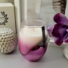 Load image into Gallery viewer, **Exclusive Product Only Found Here** - Spectacular X Large Purple Ombre Glass Jar, Natural Soy Wax Candle - Highly Scented Fragrances  ***While Stocks Last*** - Garden of Eden Pure Fragrance