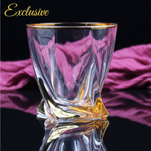 "Load image into Gallery viewer, Exclusive ""The Regal"" Glass Jar with Handcrafted Gold Features, Natural Soy Wax Candle - Highly Scented Fragrances - Garden of Eden Pure Fragrance"