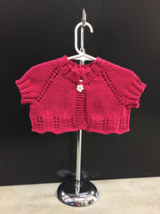 little girls shrug berroco comfort