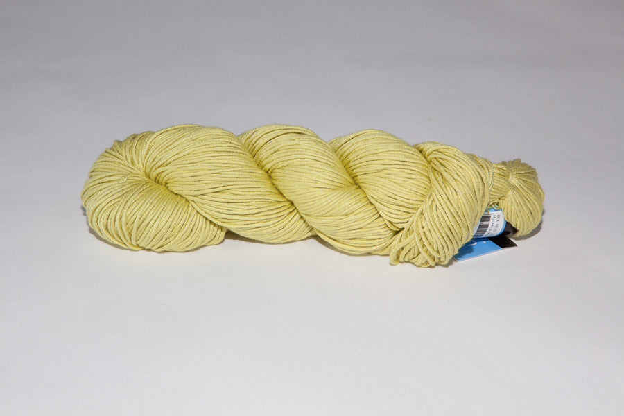 berroco modern cotton Worsted color 1626 mackeral yellow