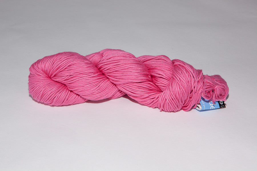 berroco modern cotton Worsted color 1639 waterfire pink