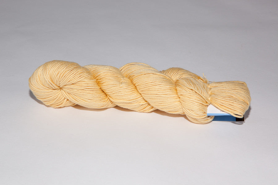 berroco modern cotton Worsted color 1627 del yellow