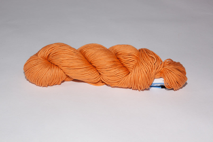 berroco modern cotton Worsted color 1628 iggy orange