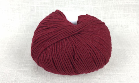 cascade 220 superwash light worsted DK 893 ruby