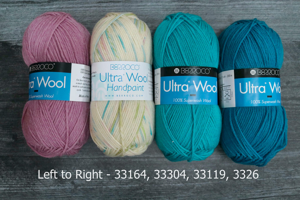 berroco ultra wool hand paint 33164, 33304, 33119, 3326