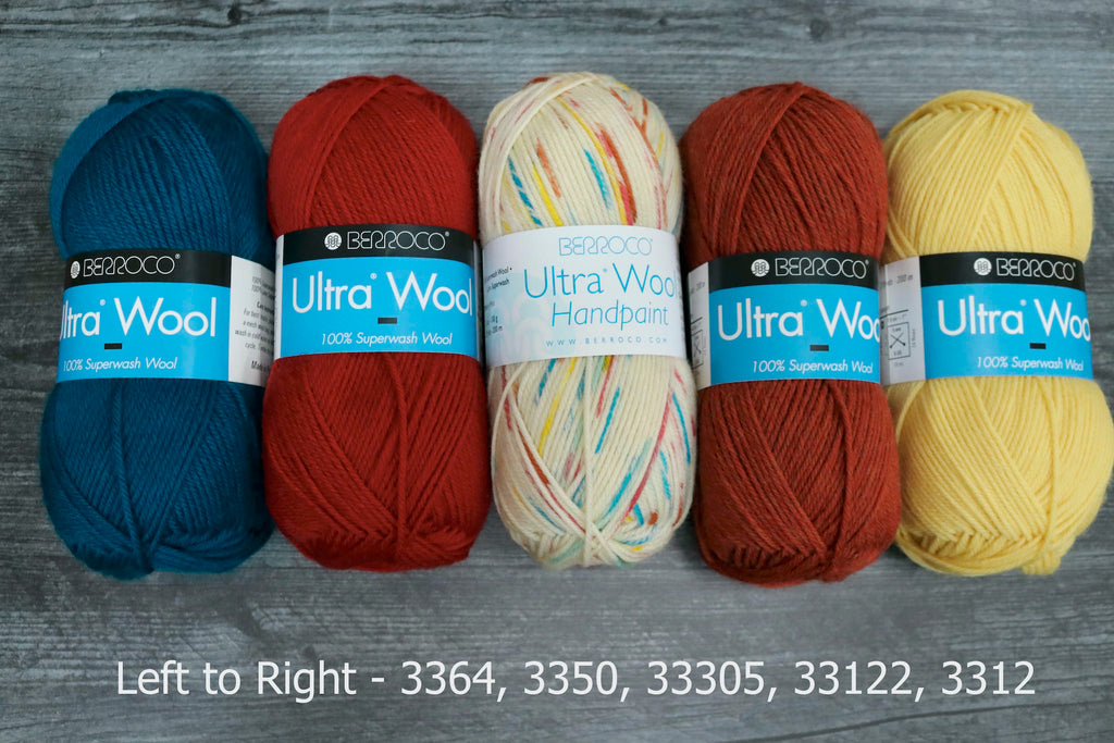 berroco ultra wool hand paint 3364, 3350, 33305, 33122, 3312