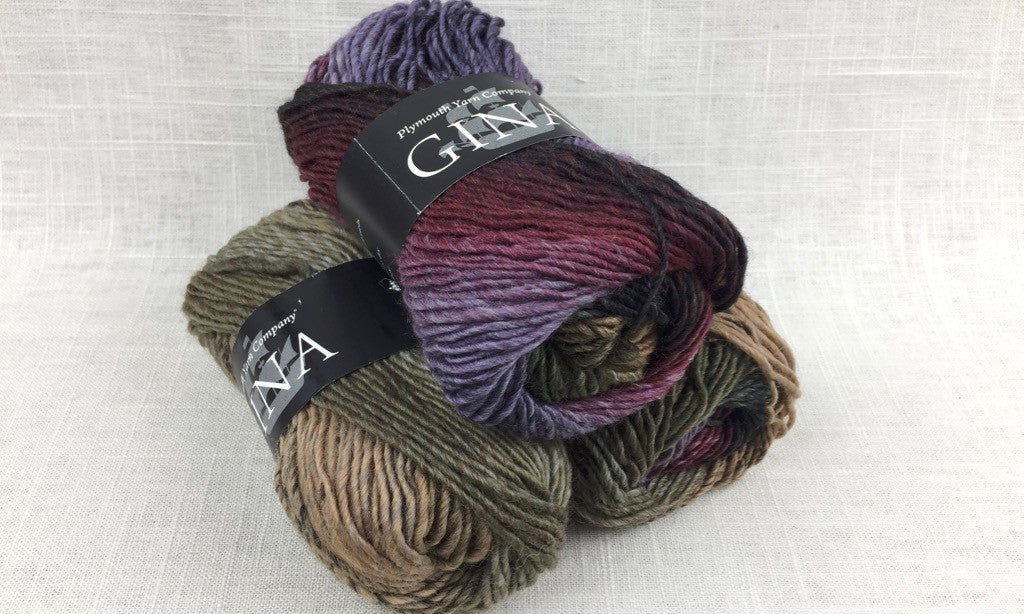 plymouth gina self stripe color change worsted wool color 0004