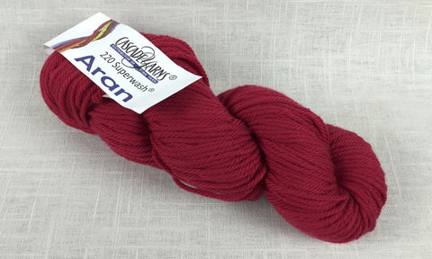 Cascade Yarns 220 Superwash aran heavy worsted really red