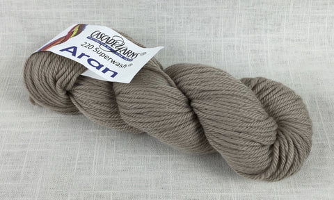 Cascade Yarns 220 Superwash aran heavy worsted 873 extra creme cafe neutral brown