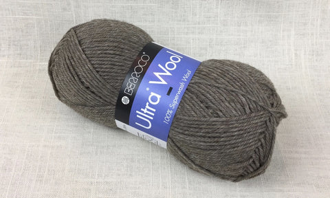berroco ultra wool superwash 33104 driftwood heathered tan