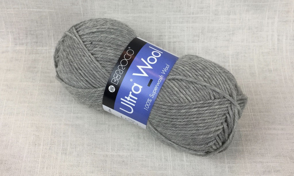 berroco ultra wool superwash 33109 frost heathered grey