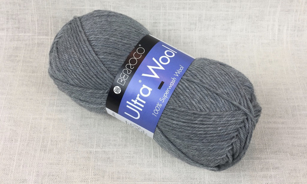 berroco ultra wool superwash 33109 fog heathered grey blue