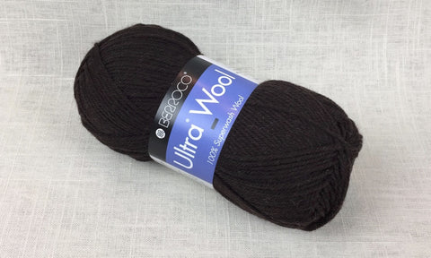 berroco ultra wool superwash 33115 bear dark brown