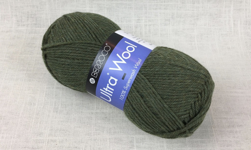 berroco ultra wool superwash 33118 marjoram heathered green