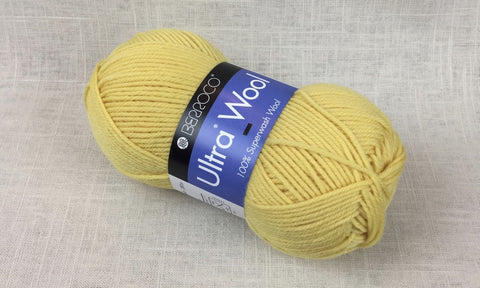 berroco ultra wool superwash 3312 butter yellow